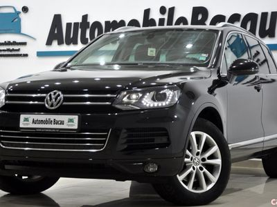 second-hand VW Touareg 3.0 V6 TDI 245 CP AUTOMATA 2012 GERMANIA Bi-Xenon
