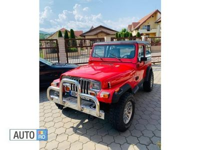second-hand Jeep Wrangler 2.5 l 1993