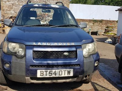 second-hand Land Rover Freelander TD4