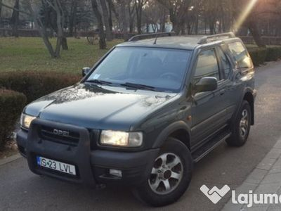 second-hand Opel Frontera Sport/2001/4x4/Full option/Unic Proprietar