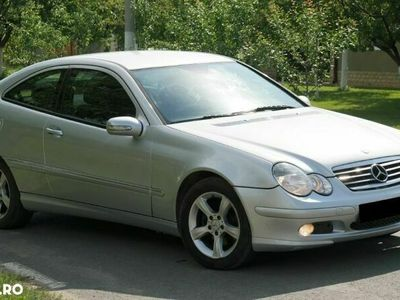 second-hand Mercedes C220 Sport Coupe EURO 4 - an 2006, 2.2 Cdi (Diesel)