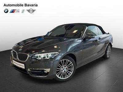 second-hand BMW 220 i Cabrio Luxury Line