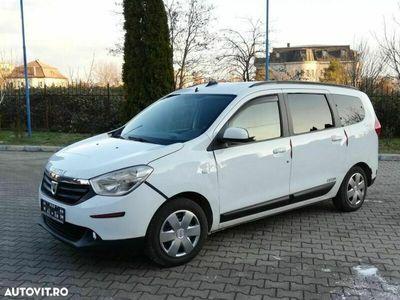 second-hand Dacia Lodgy 7 Locuri 1.5 DCi 110 Cp 2013 Euro 5