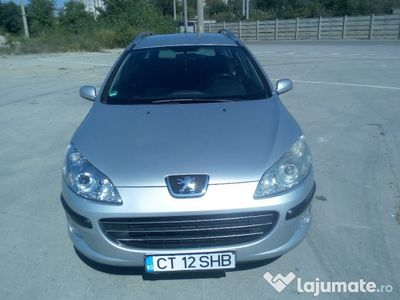 second-hand Peugeot 407 sw 1,6 hdi 109 cp recent inmatriculat