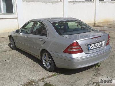 second-hand Mercedes C270 CDI, an 2002