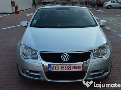 second-hand VW Eos 2.0 fsi, 150 cp, km reali 177.941, 2007, full, piele