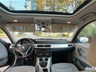 second-hand BMW 130 Seria 3 facelift 320 benzina e90 LCI, 2009, euro 5,000 km.