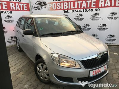 second-hand Skoda Fabia 2011-EURO 5-Benzina-Posibilitate RATE-