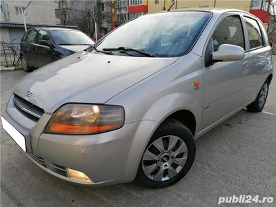 second-hand Chevrolet Kalos din 2007,102418 km,carte service,euro 4,import Germania,consum 5% mixt
