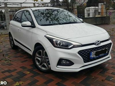 second-hand Hyundai i20 blue