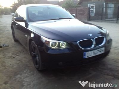 second-hand BMW 520 d 6 trepte manual 2007