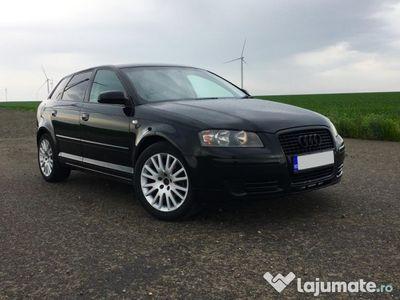used Audi A3 2007, 1.9tdi 105 cp e4, ac, recent inmatriculat