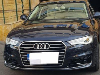 second-hand Audi A6 model 2015 intretinut garaj fara accidente