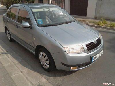 second-hand Skoda Fabia sedan 1.4 benzina an 2002 euro 4