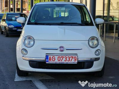 second-hand Fiat 500 motor 1.4 benzina 100 cp 6 trepte buton Sport
