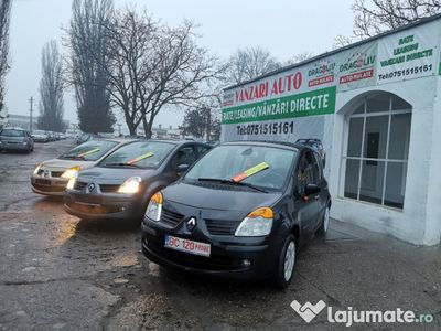 second-hand Renault Modus benzin1.6+GPL-2006-automat-Finantare rate