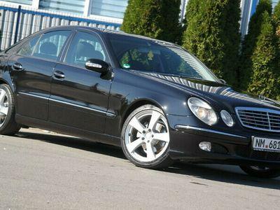 second-hand Mercedes E220 Elegance - an 2004, 2.2 Cdi (Diesel)