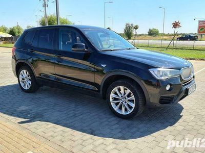second-hand BMW X3 3.0 Diesel 313 Cp 2014 Automat Facelift