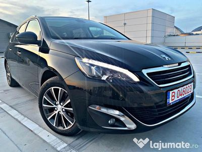 second-hand Peugeot 308 2.0 150cp full/led/panorama/piele/euro 6