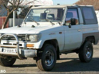 second-hand Toyota Land Cruiser 4x4 LJ 70 AUTOUTILITARA - an 1990, 2.4