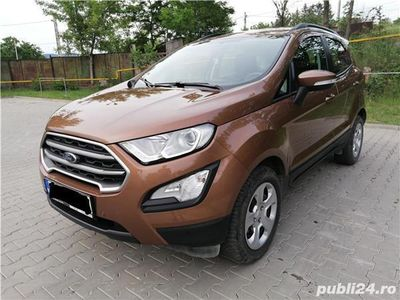 second-hand Ford Ecosport TREND 2018 1.0l 125cp 30.280 Km