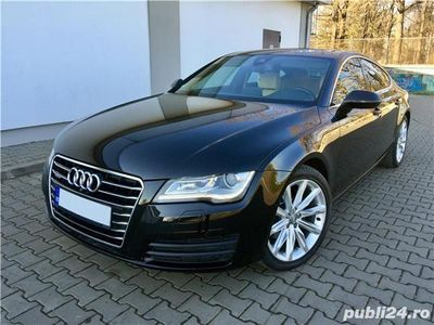 second-hand Audi A7 - 2013 - Quattro - 313 CP - Camere 360 grade