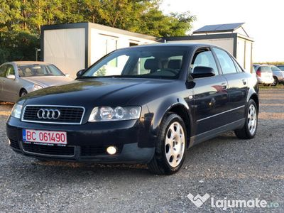 second-hand Audi A4 2003, 1.9 diesel, posibilitate = rate =
