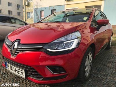 second-hand Renault Clio IV 2018, dotari FULL, predare LEASING rata 210 Euro, model face lift