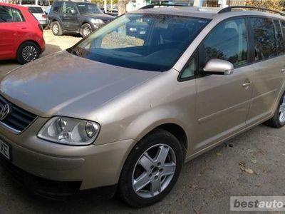 brugt VW Touran din 2007, cu motor de 1.9 TDI, 105 cp