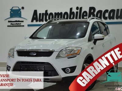 second-hand Ford Kuga 2.0 TDCI 163 CP 4x4 2010 EURO 5 Trapa, Piele