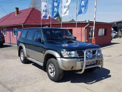second-hand Nissan Patrol cu platforma auto