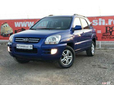 second-hand Kia Sportage 2008, 4X4, 2.0 diesel, Piele, =RATE=