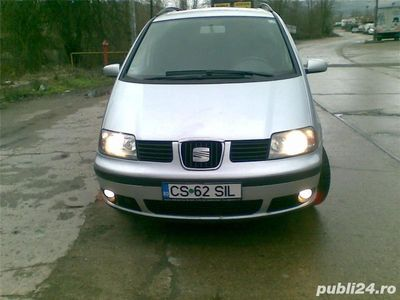 second-hand Seat Alhambra 19 TDI,climatronic,an 2005