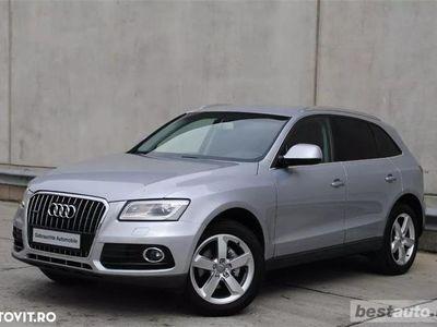 second-hand Audi Q5 S-Line Plus // 2.0 TDi 190 CP // Light Assist // Navigatie Mare 3D // Scaune Sport+Încălzite