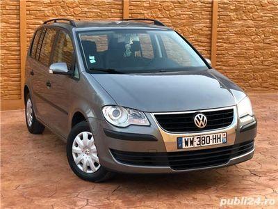 second-hand VW Touran An 2008 1.9 TDI Euro 4 Adus azi pe roti