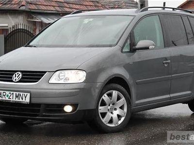 second-hand VW Touran 7 Locuri, 2.0 TDI Diesel an 2007