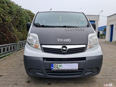 second-hand Opel Vivaro 2.0 CDTI 90 CP 8+1 locuri