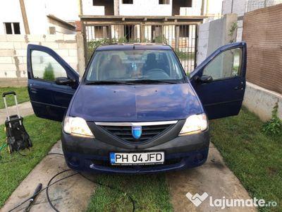 second-hand Dacia Logan impecabila, service la zi
