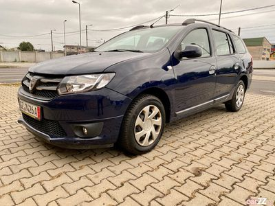 second-hand Dacia Logan MCV 0,9 eco model 2015 sau rate !