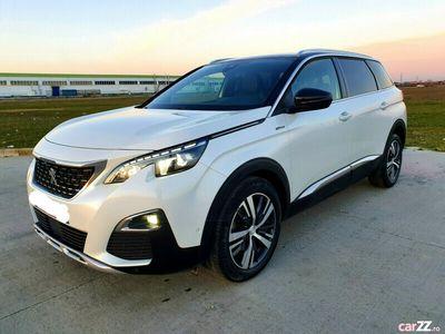 second-hand Peugeot 5008 GT-Line,2018,2.0 diesel,manual,Euro 6,alb perla