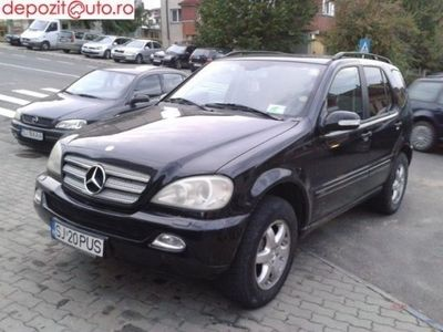 second-hand Mercedes ML270 2003
