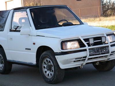 second-hand Suzuki Vitara 4x4 Cabrio - an 1995, 1.6 16v (Benzina)