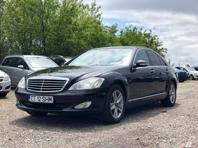 second-hand Mercedes S320 2007, full option, posibilitate = RATE =