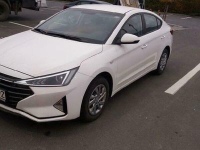 second-hand Hyundai Elantra 2019 noul model