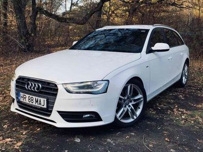 second-hand Audi A4 2014 2.0 Tdi 177 cp Automata Paket S-line