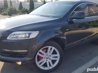 second-hand Audi Q7 model S-line,sapte locuri,inmatriculat ro,proprietar pe carte!