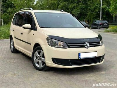 second-hand VW Touran 1.6 tdi automat euro 5 înmatriculat în Ro