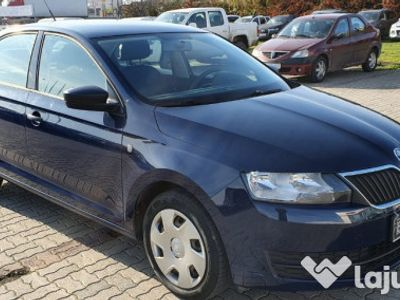 second-hand Skoda Rapid 1.6 diesel 105 cp 2015
