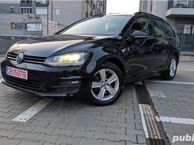 second-hand VW Golf VII 2.0 TDI 150CP Factura * DSG * Xenon * NAVI * Incalzire scaune * Masaj * Piele.