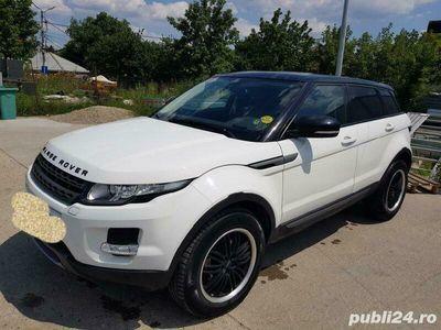 second-hand Land Rover Range Rover evoque -